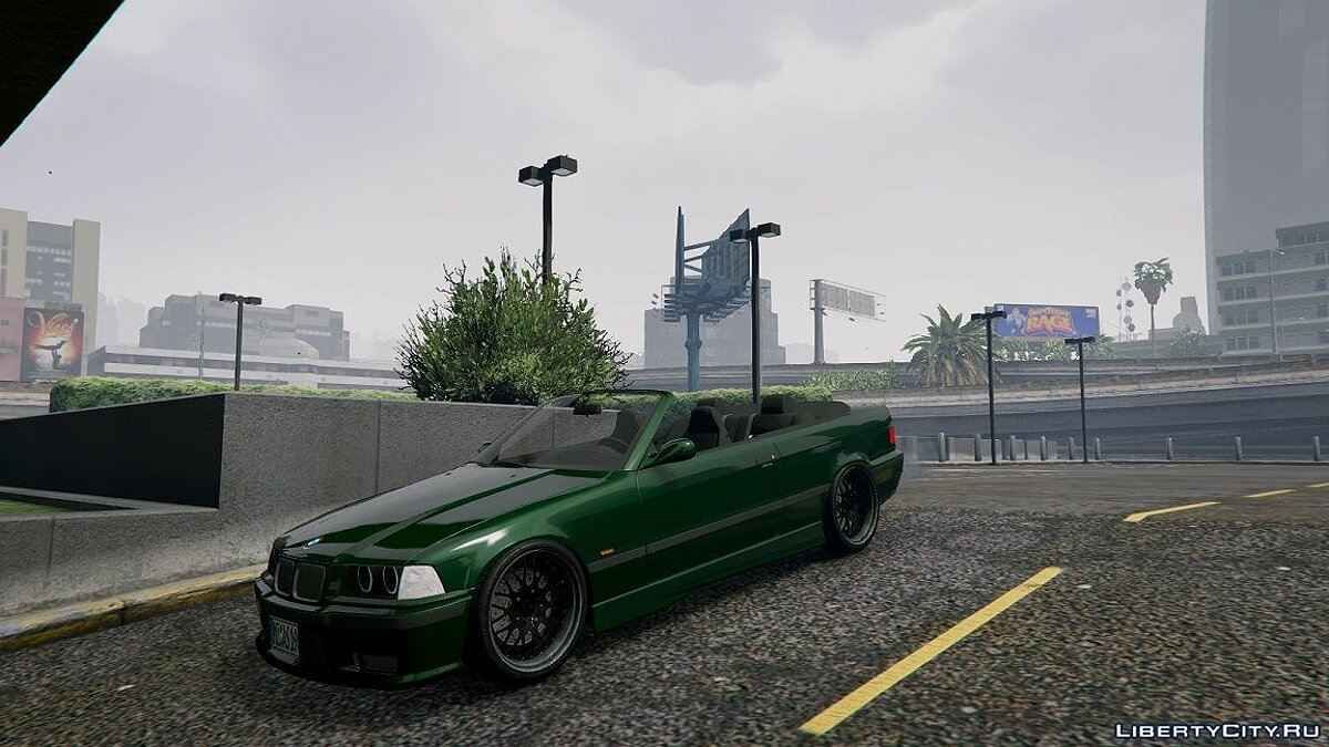 BMW E36 328i M-Sport Cabrio [Replace] 1.5 для GTA 5 - скриншот #2