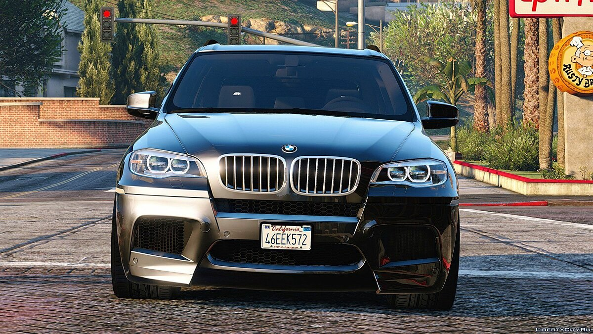 BMW X5M 2013 [Add-On] 1.2 для GTA 5 - скриншот #5