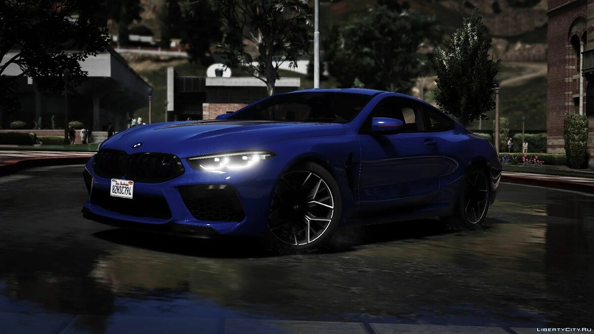 Машина BMW BMW M8 Coupe 2020 [Add-On] 1.0 для GTA 5