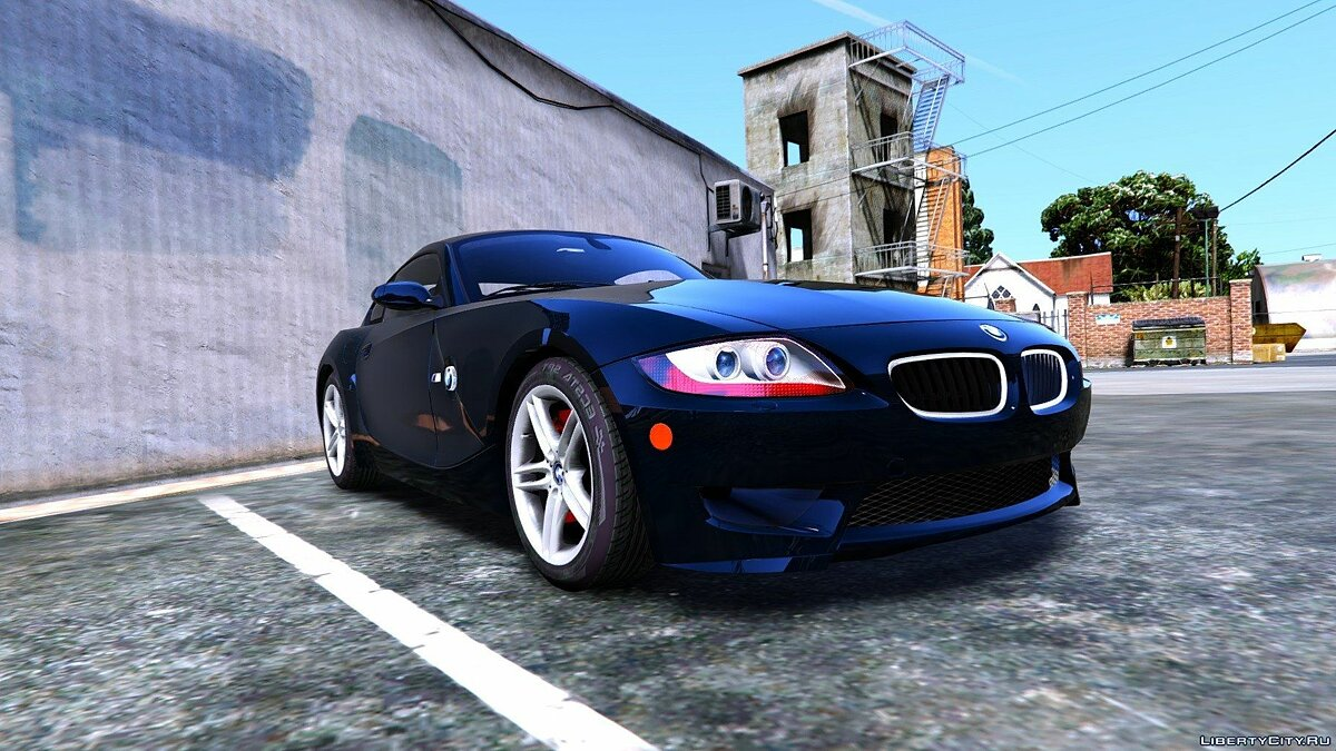 2008 BMW Z4M (E86) Coupe [Tuning] 0.02 для GTA 5 - скриншот #7