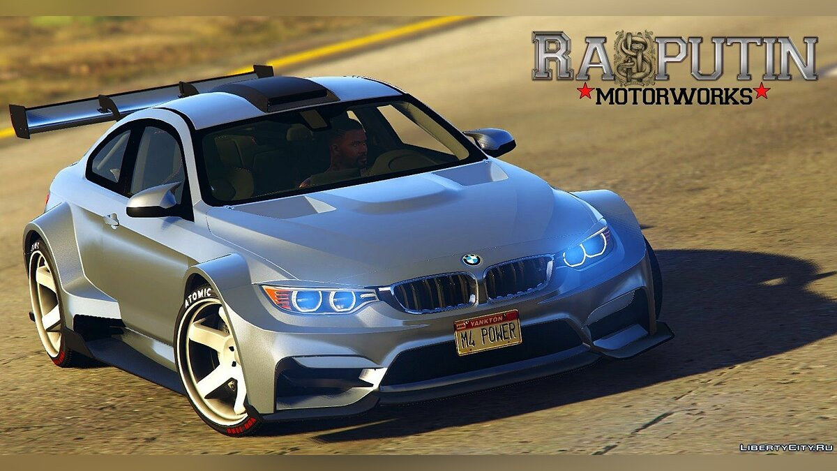 BMW M4 LibertyWalk+Raijin 2.0 для GTA 5 - скриншот #3