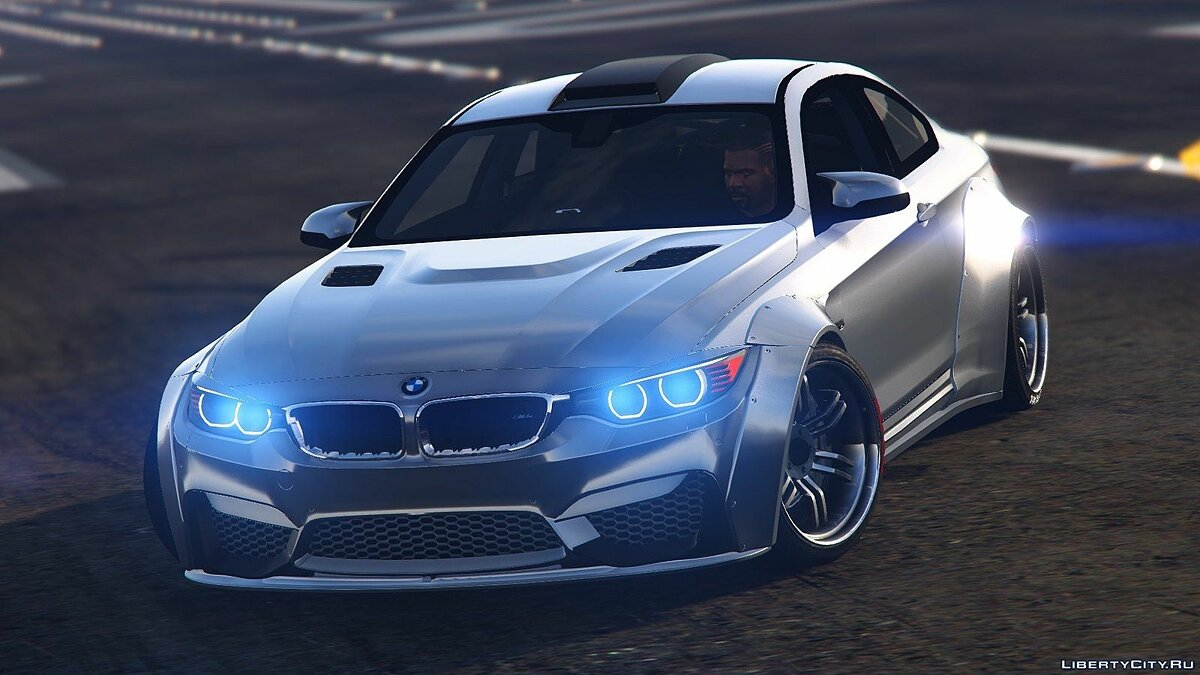 BMW M4 LibertyWalk+Raijin 2.0 для GTA 5 - скриншот #6