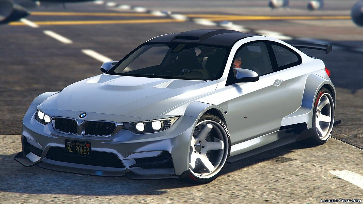 BMW M4 F82 Raijin WideBody 1.0 для GTA 5 - скриншот #3