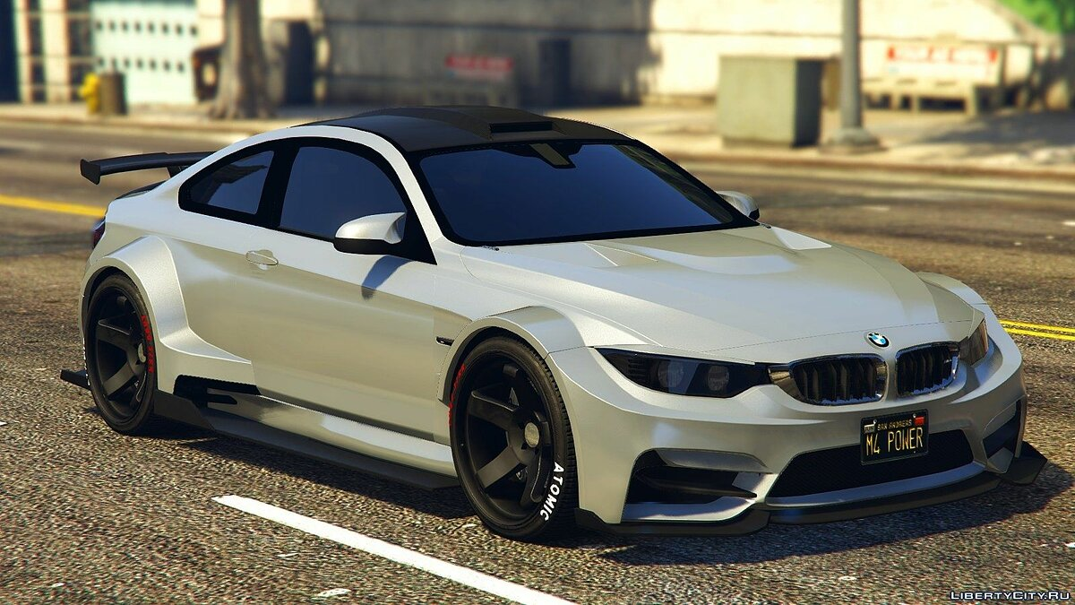 BMW M4 F82 Raijin WideBody 1.0 для GTA 5