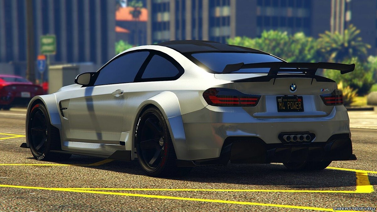 BMW M4 F82 Raijin WideBody 1.0 для GTA 5 - скриншот #7