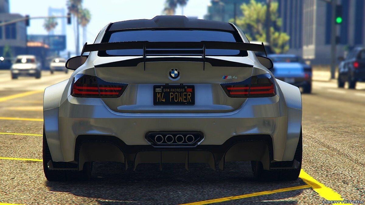 BMW M4 F82 Raijin WideBody 1.0 для GTA 5 - скриншот #5