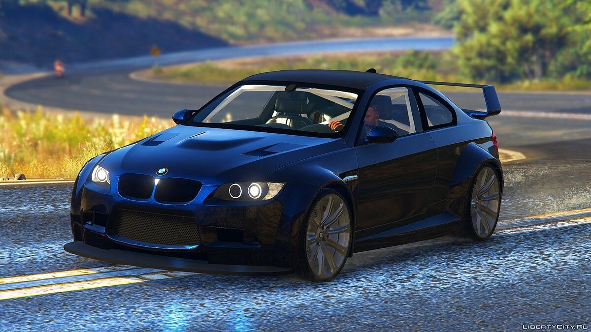 BMW M3 (E92) WideBody v1.1 для GTA 5