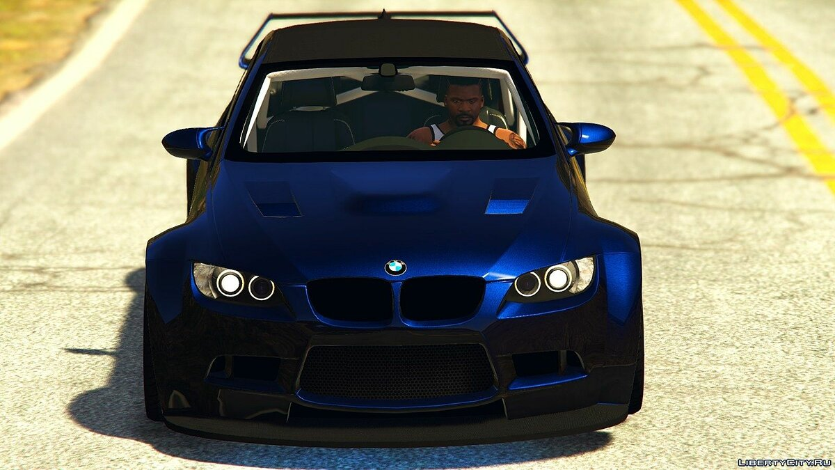BMW M3 (E92) WideBody v1.1 для GTA 5 - скриншот #3