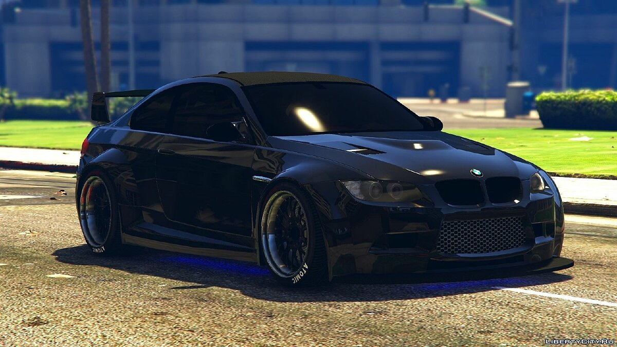 BMW M3 (E92) WideBody для GTA 5 - скриншот #2