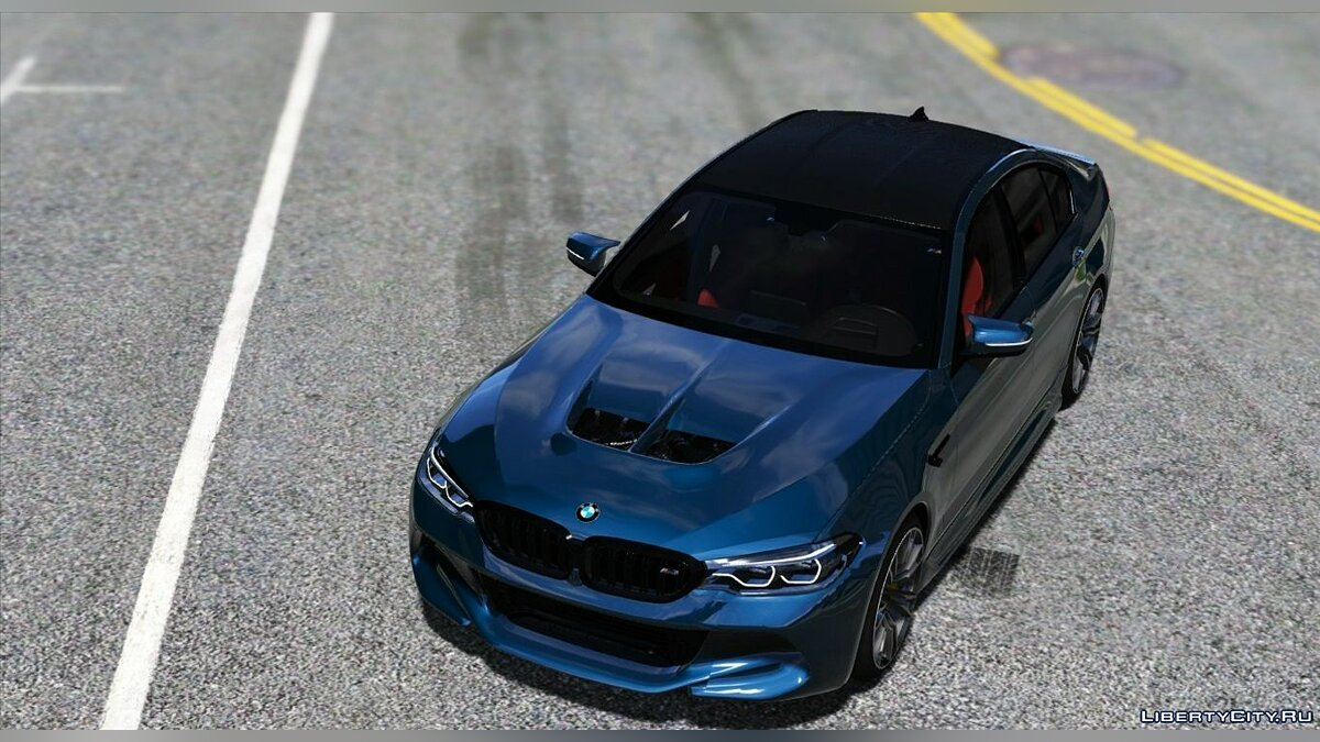 ��ашина BMW 2018 BMW M5 F90 [Add-on/Tuning/Template/HQ] 1.2 для GTA 5
