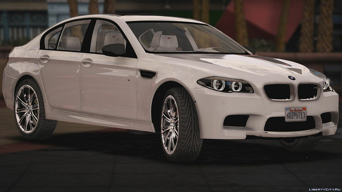 Машина BMW BMW M5 F10 [Replace/HQ] 1.0 для GTA 5