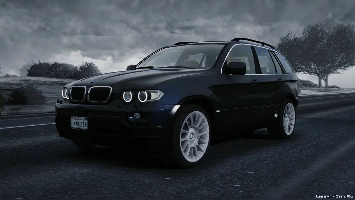 Машина BMW 2006 BMW X5 4.8iS Individual (E53/FL) [Add-On / Replace | Tuning | Extras] 1.0 для GTA 5