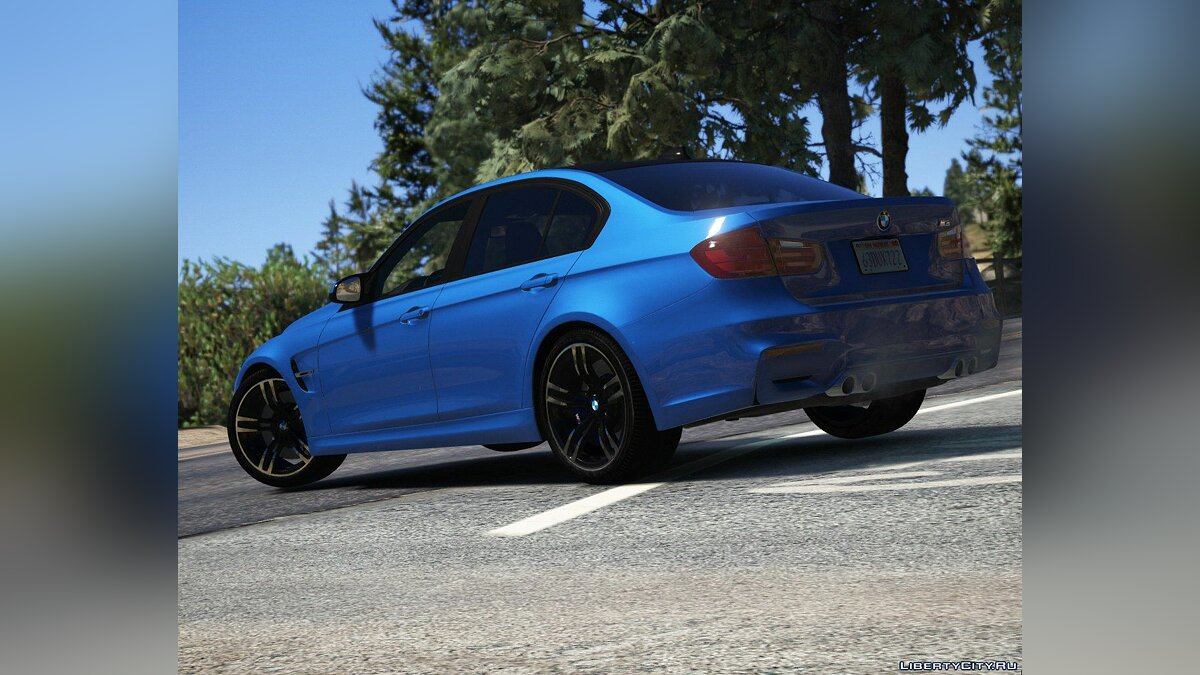 ��ашина BMW 2015 BMW M3 (F80) [Add-On | Tuning | Analog-Digital Dials] 2.0 для GTA 5
