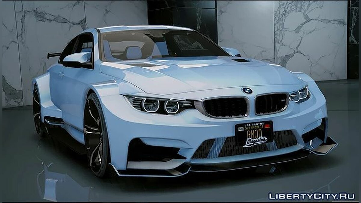 BMW M4 GTS Liberty Walk [Add-On/OIV] 1.3 для GTA 5