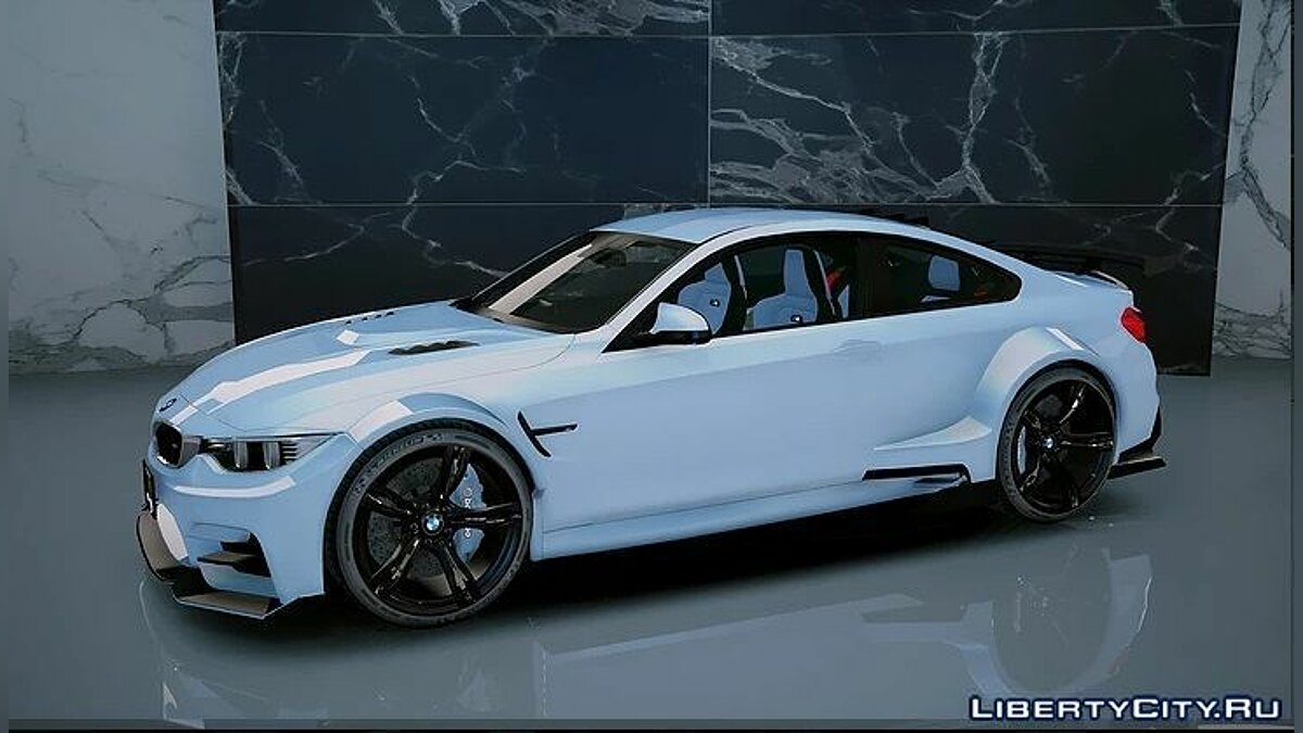 ��ашина BMW BMW M4 GTS Liberty Walk [Add-On/OIV] 1.3 для GTA 5