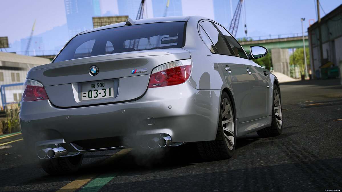 ��ашина BMW 2009 BMW M5 (E60) [Add-on] 1.0 для GTA 5