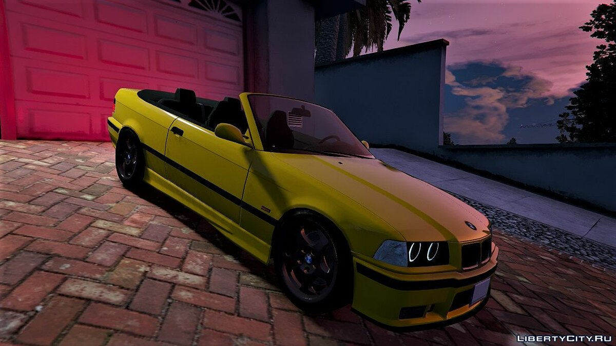 BMW E36 328i M-Sport Cabrio [Replace] 1.3 для GTA 5