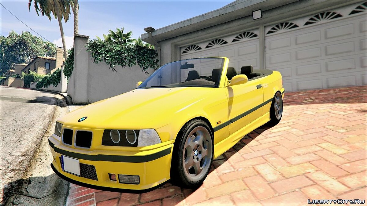 BMW E36 328i M-Sport Cabrio [Replace] 1.3 для GTA 5 - скриншот #2