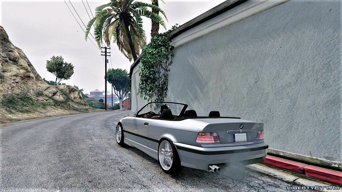 BMW E36 328i M-Sport Cabrio [Replace] 1.3 для GTA 5 - скриншот #7