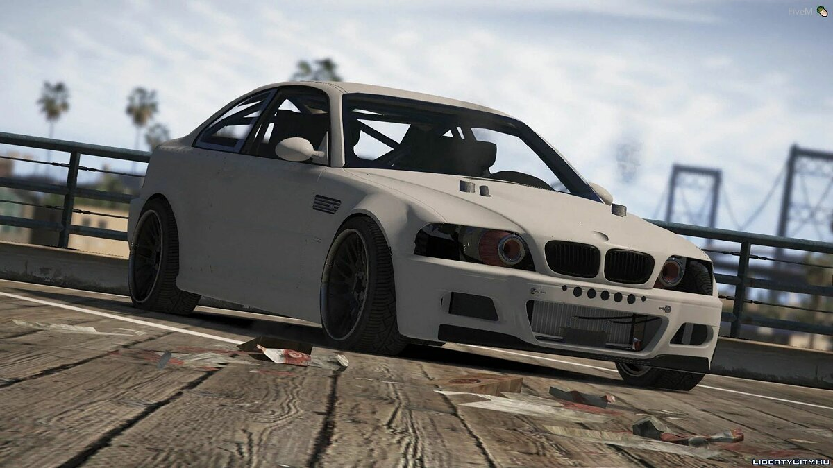 Машина BMW BMW E46 (Drift Projekt) [Add-On] для GTA 5