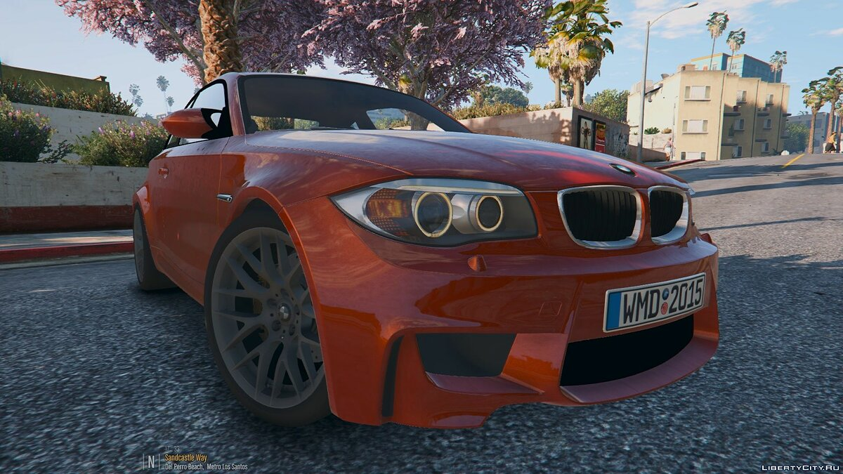 BMW M1 Coupe [Replace | HQ] 1.1 для GTA 5
