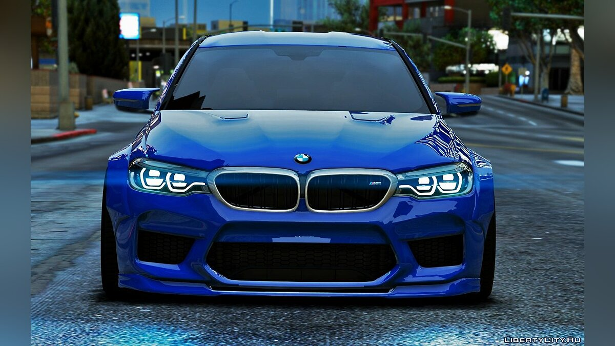 ��ашина BMW BMW M5 F90 2018 [LibertyWalk(&Stock) / Add-on] для GTA 5
