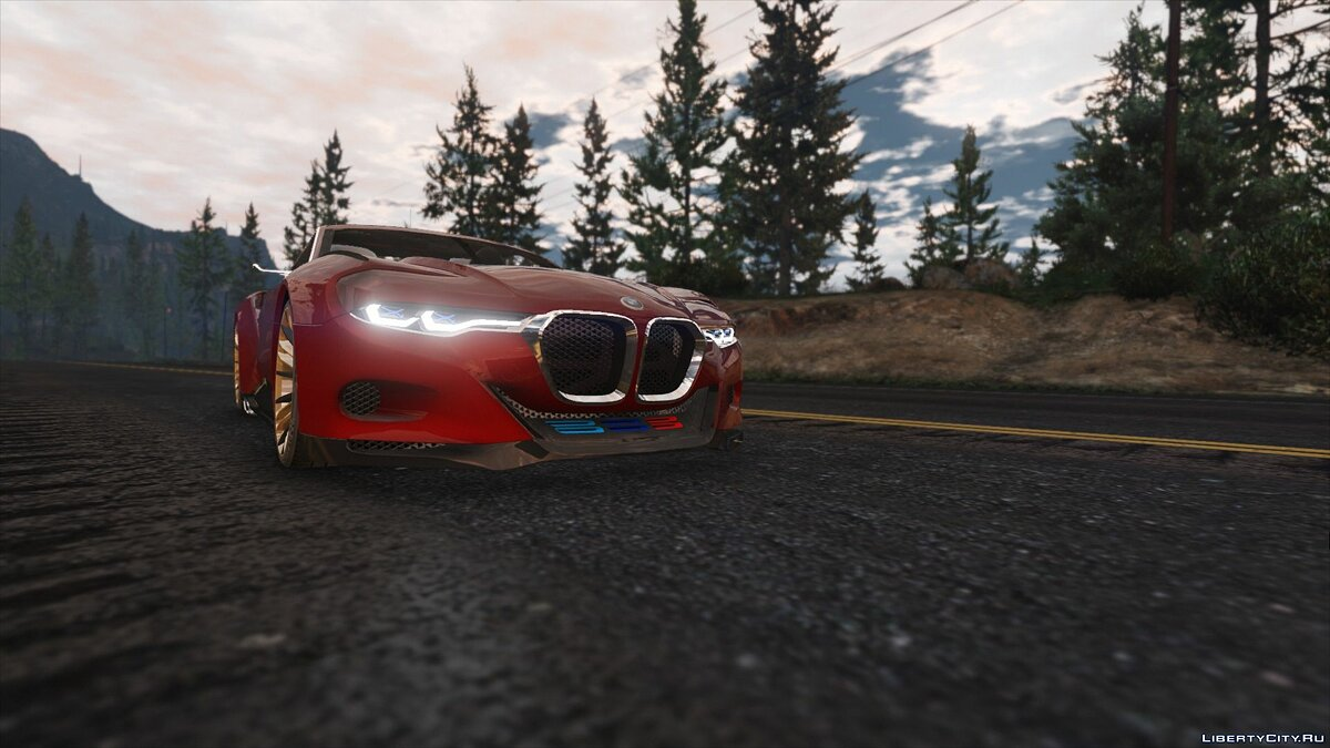 BMW 3.0 CSL Hommage R Concept [Add-On] 1.0 для GTA 5 - скриншот #3