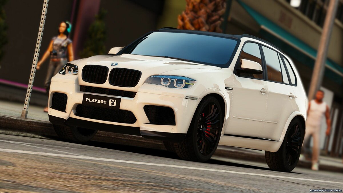 Playboy (BMW) X5M [Add-On | Tuning] 1.0 для GTA 5