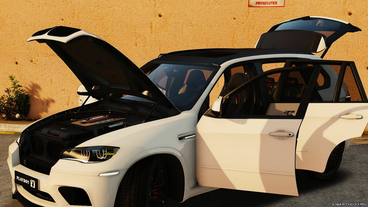Playboy (BMW) X5M [Add-On | Tuning] 1.0 для GTA 5 - скриншот #4