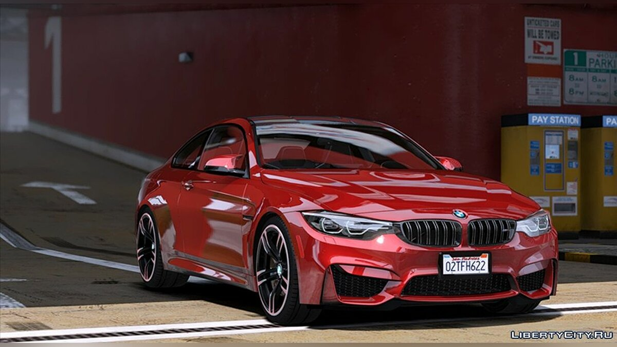 ��ашина BMW BMW M4'18[ADD-ON] 3.0 для GTA 5