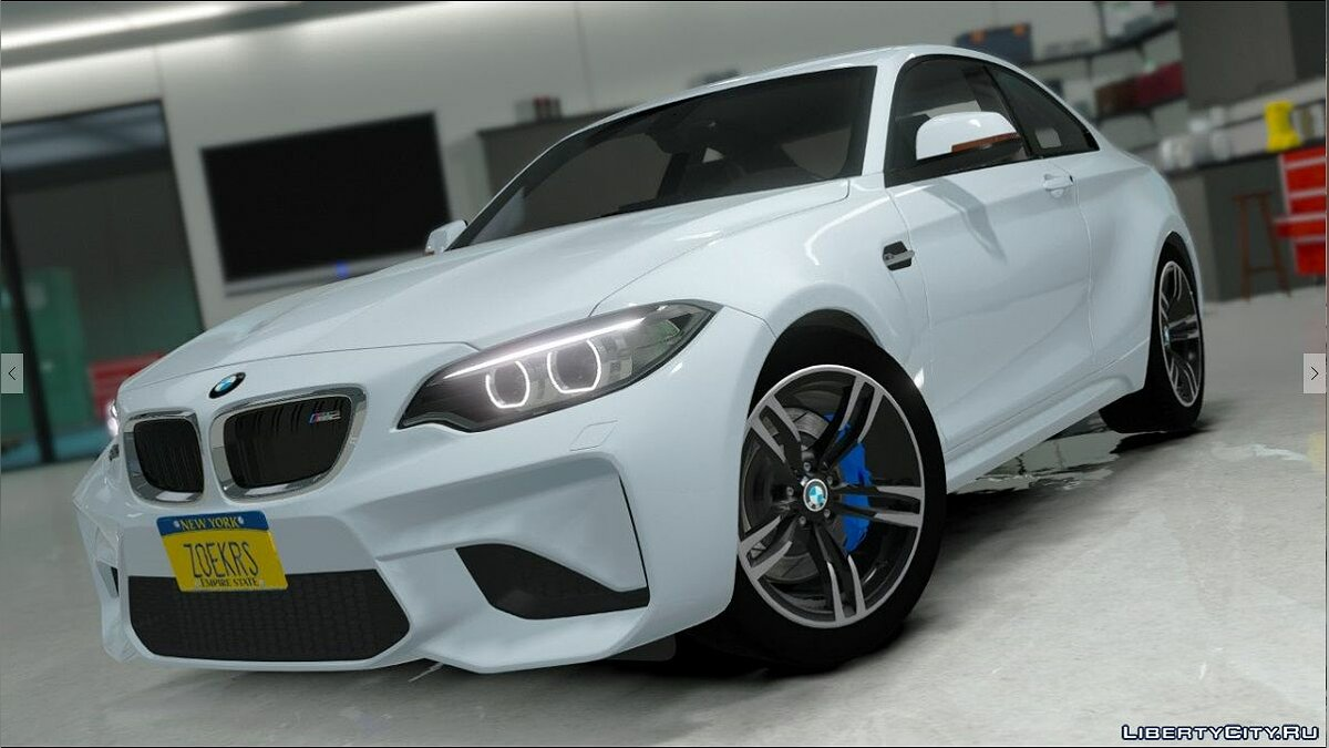 BMW M2 [Replace] для GTA 5 - скриншот #3
