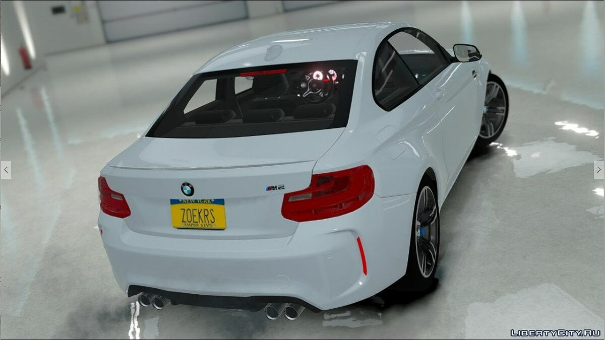 BMW M2 [Replace] для GTA 5 - скриншот #4