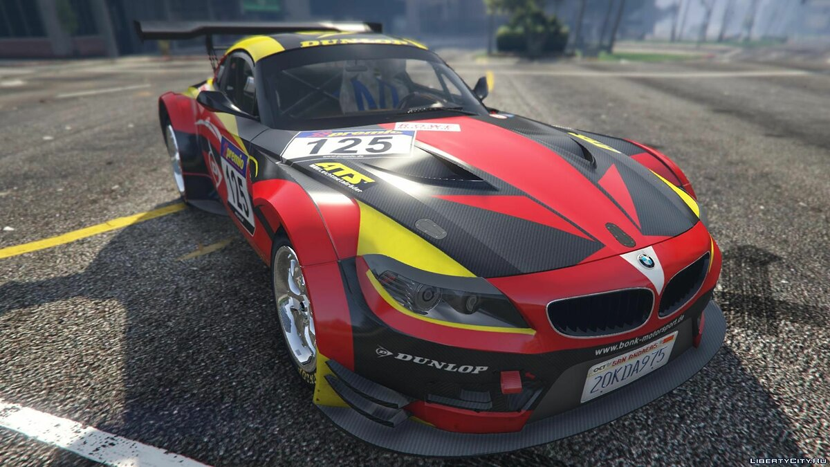 BMW Z4 GT3 [+ Add-On] v2.1 для GTA 5