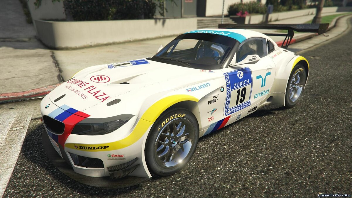 BMW Z4 GT3 [+ Add-On] v2.1 для GTA 5 - скриншот #2