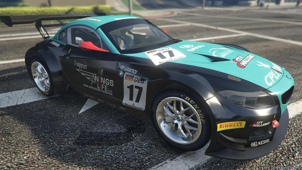 BMW Z4 GT3 [+ Add-On] v2.1 для GTA 5 - скриншот #3