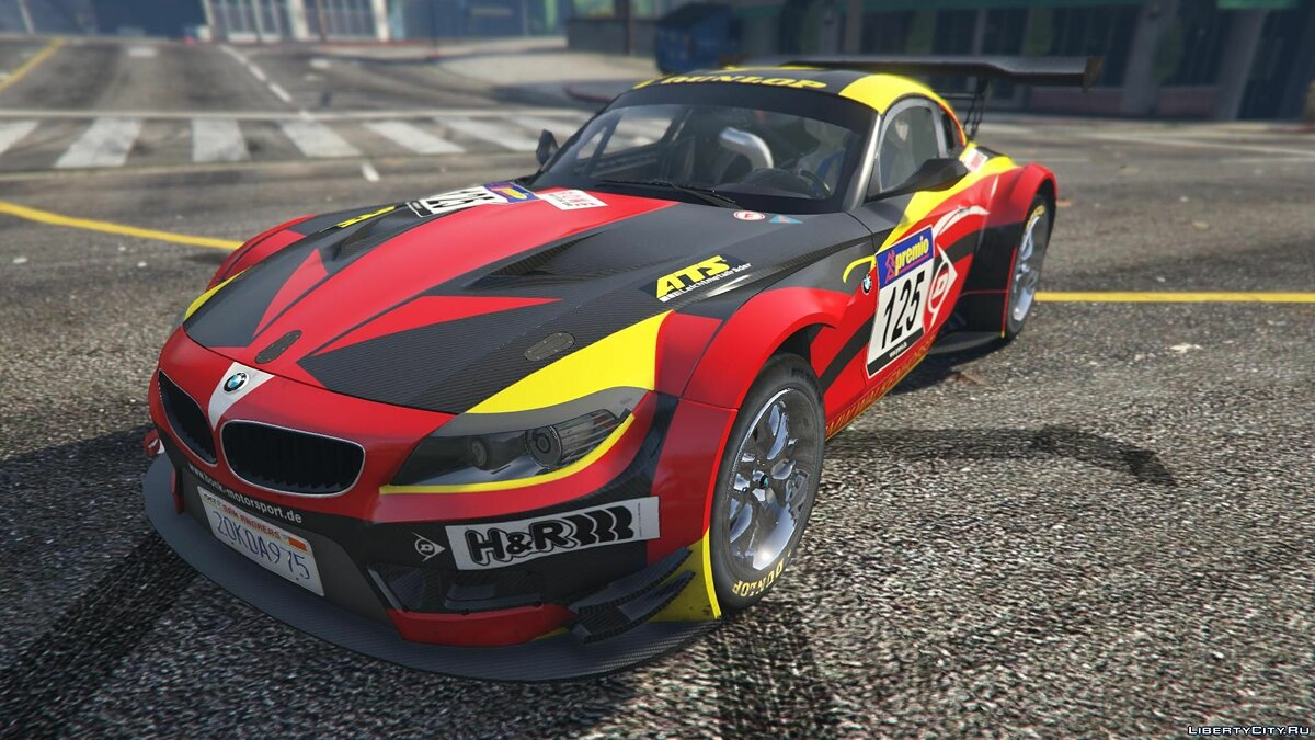 BMW Z4 GT3 [+ Add-On] v2.1 для GTA 5 - скриншот #6