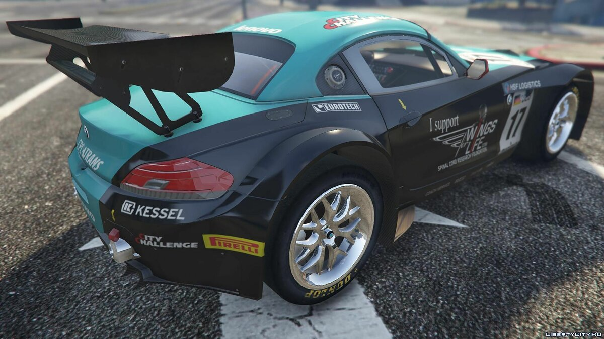 BMW Z4 GT3 [+ Add-On] v2.1 для GTA 5 - скриншот #8