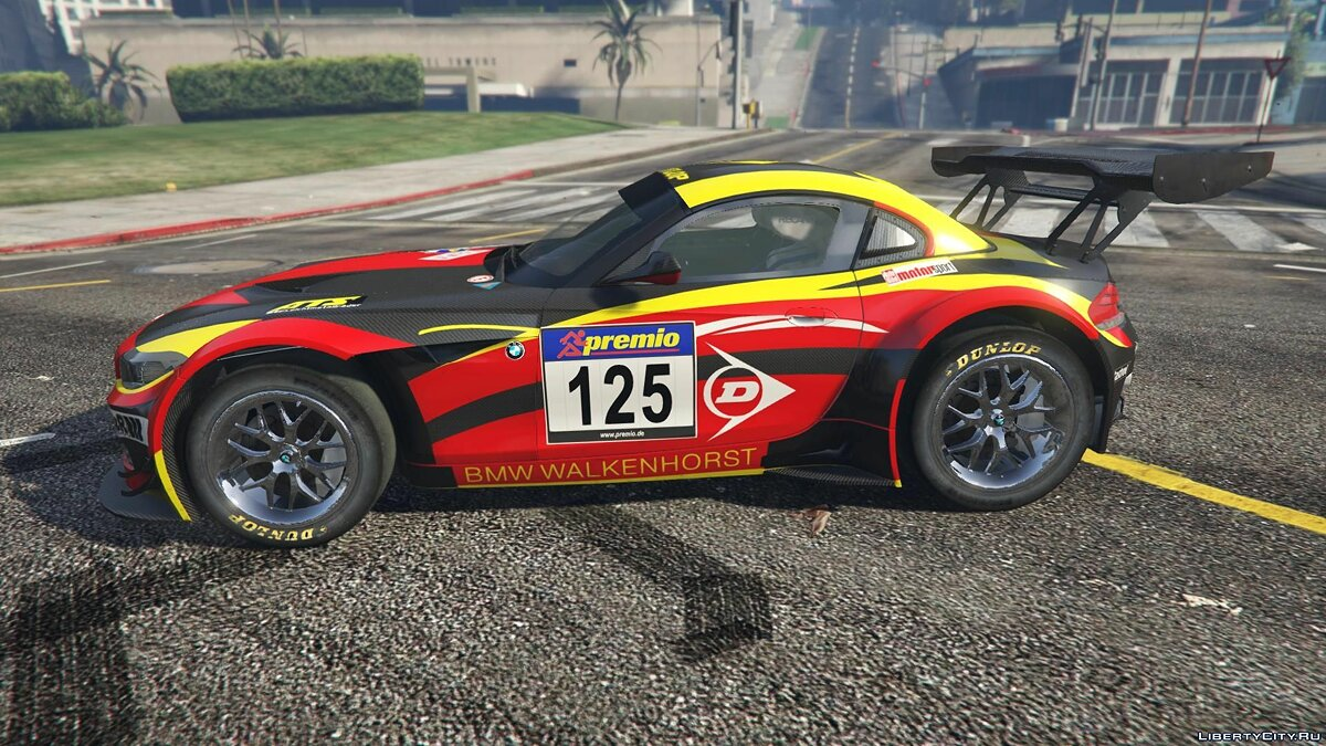 BMW Z4 GT3 [+ Add-On] v2.1 для GTA 5 - скриншот #9