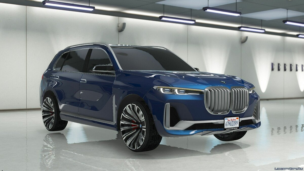Машина BMW BMW X7 Concept [Add-On / Replace] 1.0 для GTA 5