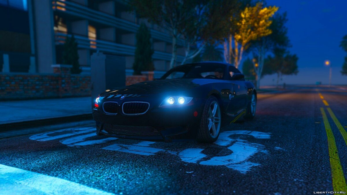 BMW Z4M Coupe 2008 для GTA 5 - скриншот #4