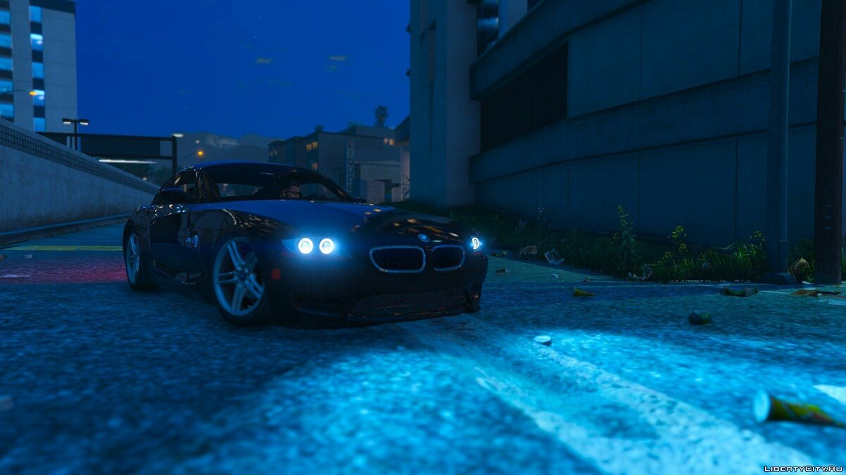 BMW Z4M Coupe 2008 для GTA 5 - скриншот #3