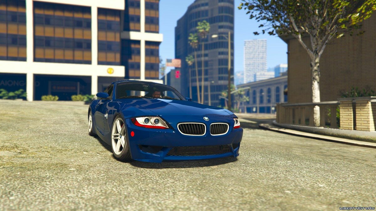 BMW Z4M Coupe 2008 для GTA 5 - скриншот #5