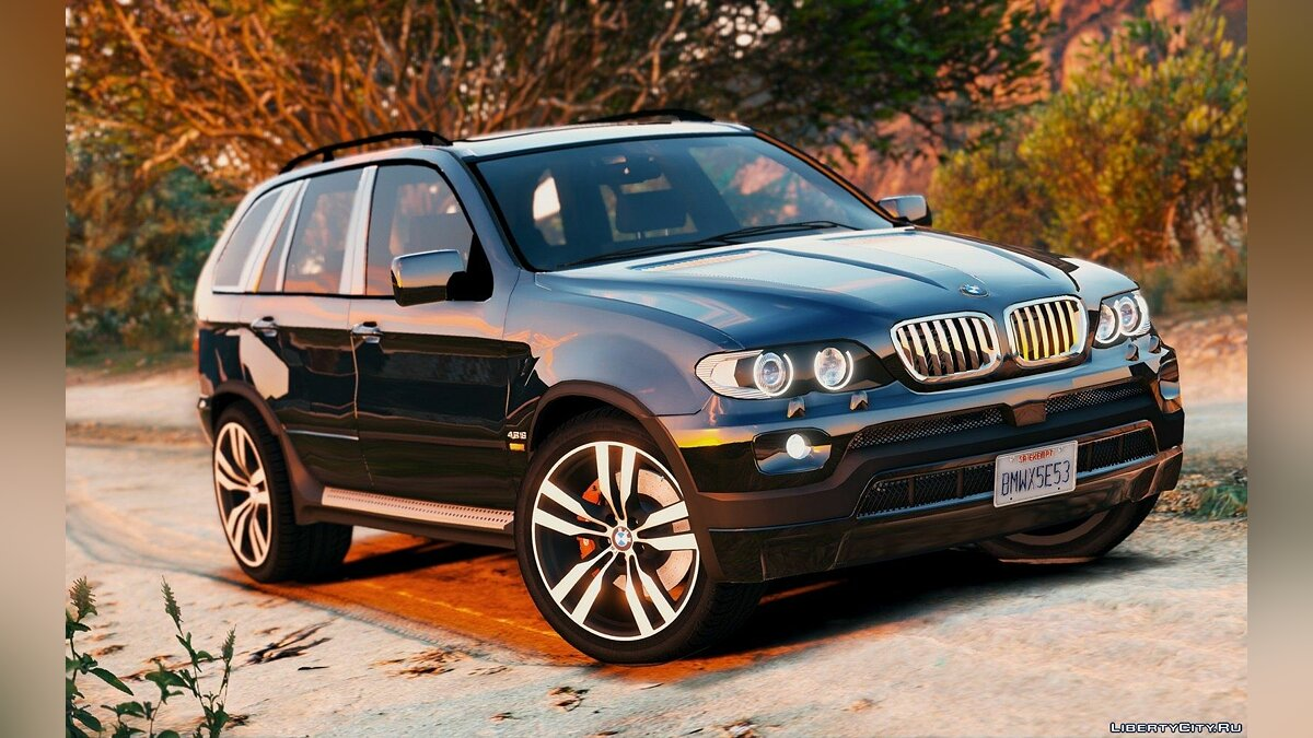 BMW X5 E53 2005 Sport Package 1.0 для GTA 5