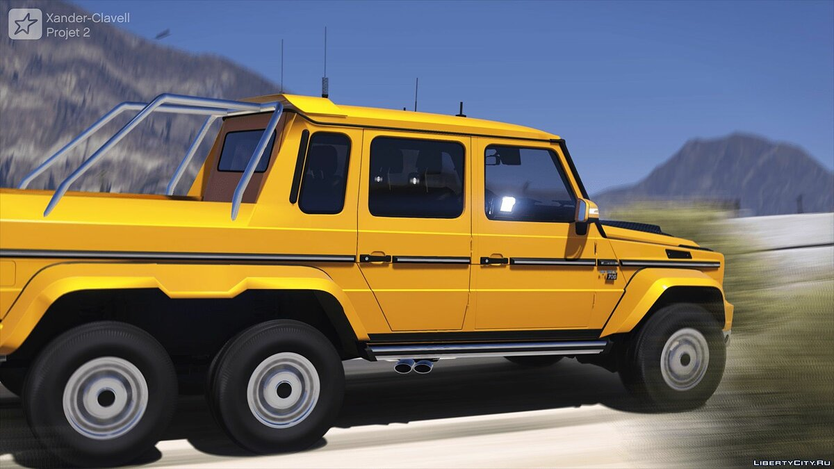 Машина Brabus BRABUS 700 G63 AMG 6x6 (Add-on/Replace) 1.0 для GTA 5