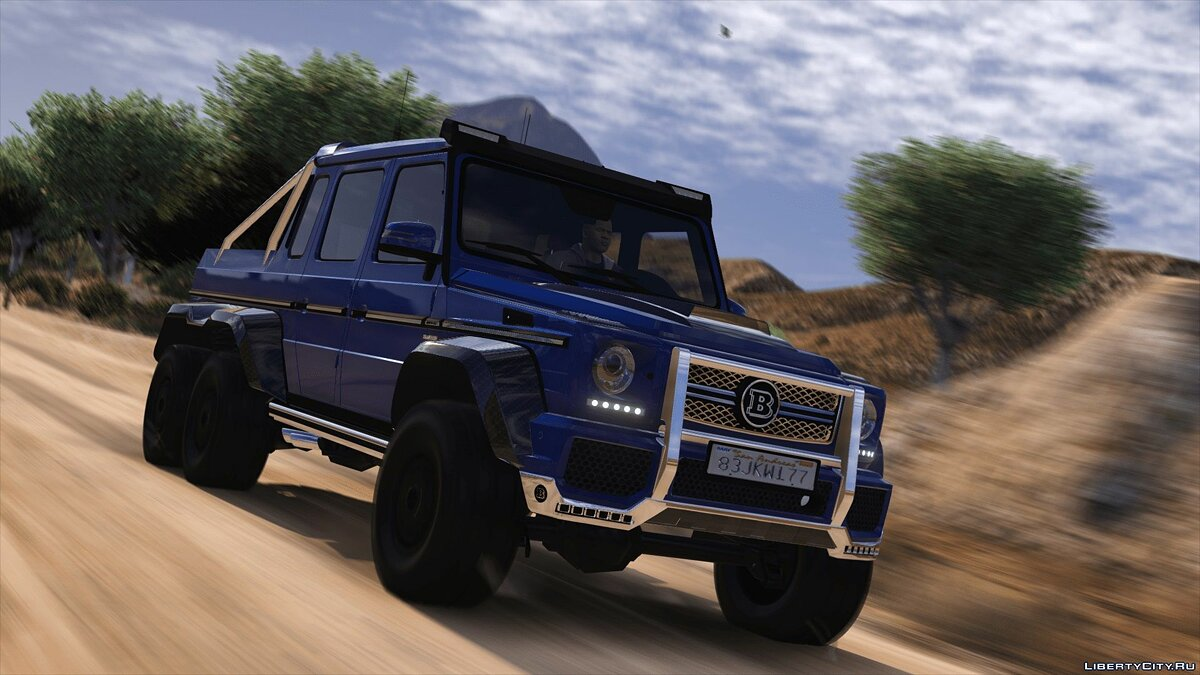 Машина Brabus BRABUS 700 G63 AMG 6x6 (Add-on/Replace) 4.0 для GTA 5