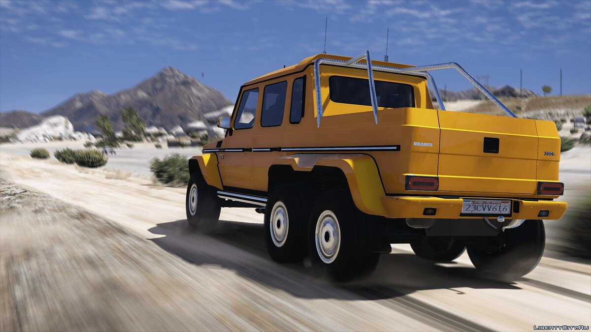 Машина Brabus BRABUS 700 G63 AMG 6x6 (Add-on/Replace) 3.0 для GTA 5