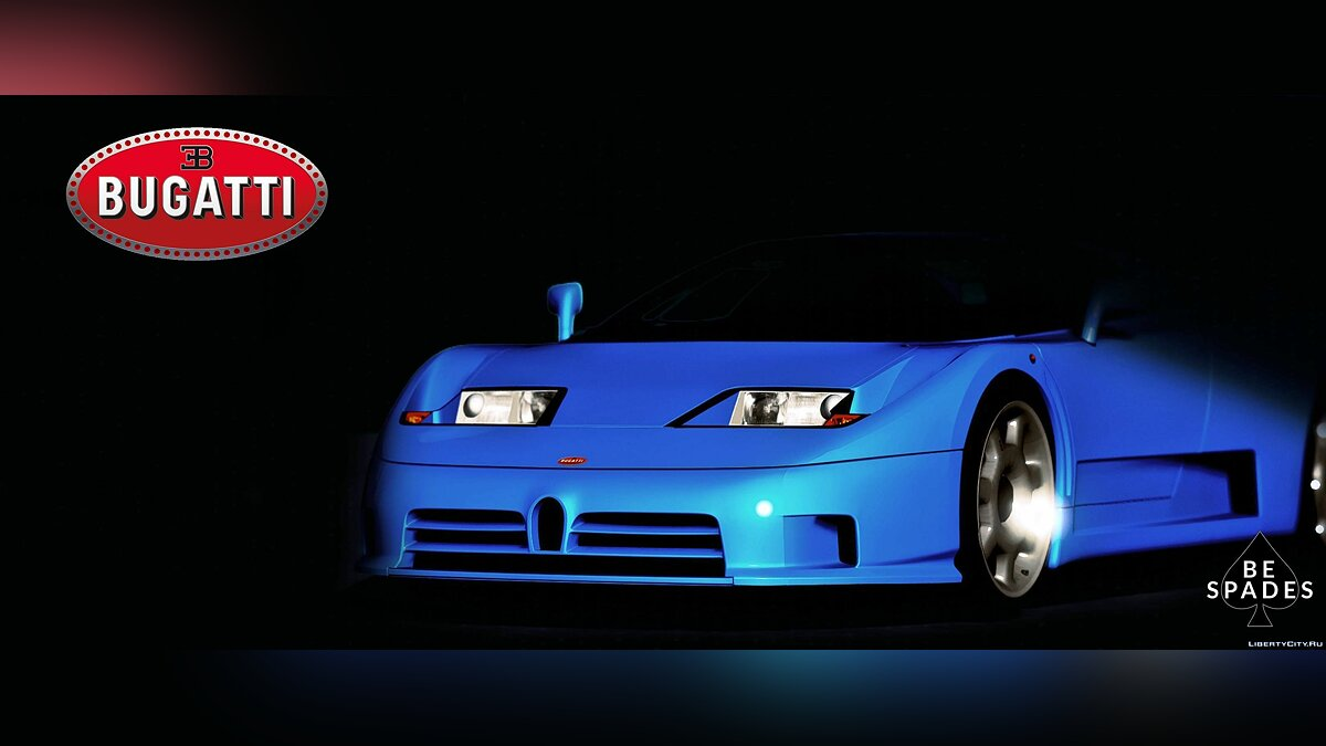 ��ашина Bugatti 1992 Bugatti EB110 SS [Add-On / Replace | Tuning] для GTA 5