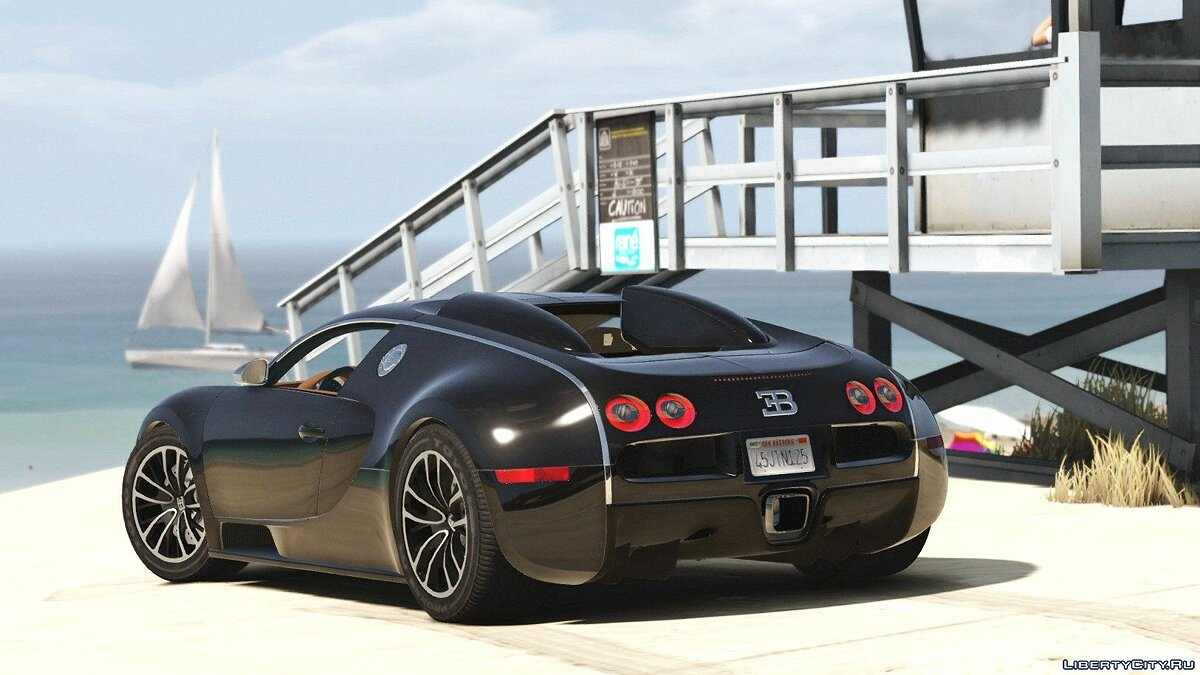 Bugatti Veyron Sang Noir [Add-On | Autovista] для GTA 5 - скриншот #2