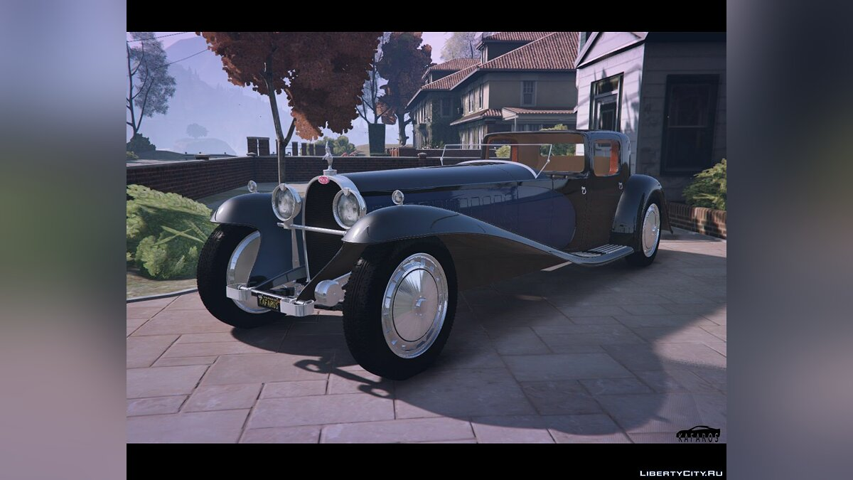 ��ашина Bugatti 1927 Bugatti Type 41 Royale [Add-On / Replace] 1.0 для GTA 5