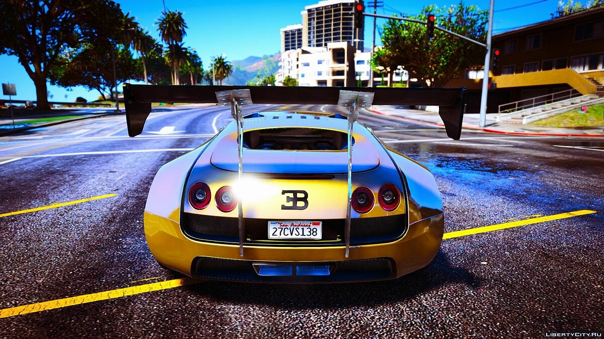 Bugatti Veyron [Replace + Add-on + Tuning] Final для GTA 5 - скриншот #2